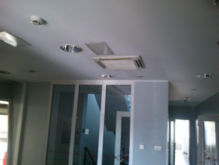 oro kondicionieriu montavimas