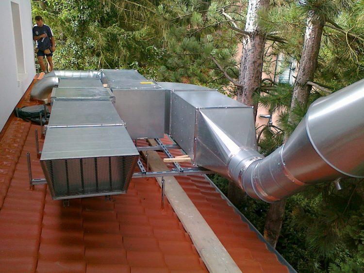 oro vedinimo sistemu darbai vokietijoje