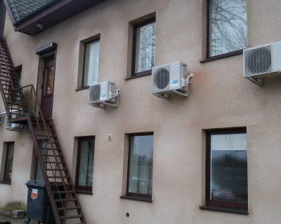 Kondicionierių oras - oras montavimas Klaipėdoje, Pardea