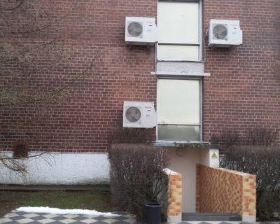 """Kondicionierių montavimas Klaipėdoje, viešbutyje """"Vėtra"""""""