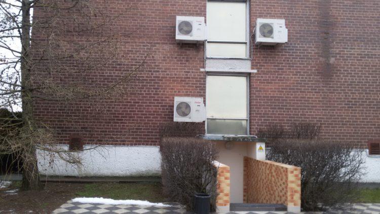 Kondicionierių montavimas Klaipėdoje, viešbutyje