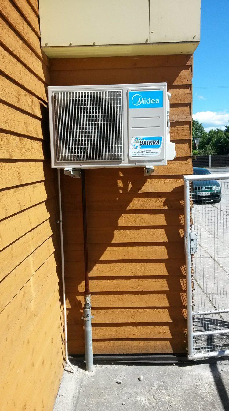 oro kondicionierių montavimo darbai Palangoje