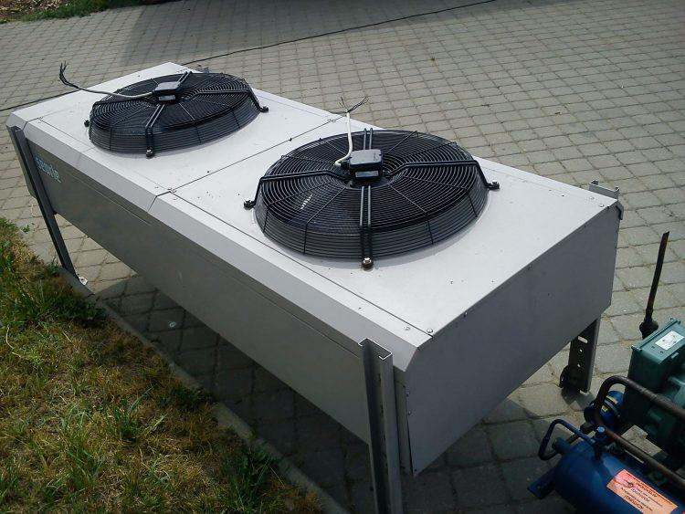Šaldymo kameros montavimas darbai Rusnėje