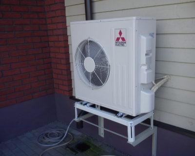 Oro kondicionierių FH50 montavimas PalangojeOro kondicionierių FH50 montavimas Palangoje