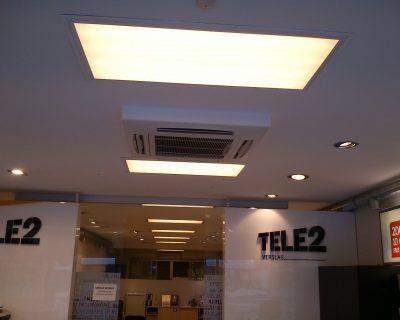 Kondicionieriu montavimas Klaipedoje, Tele2