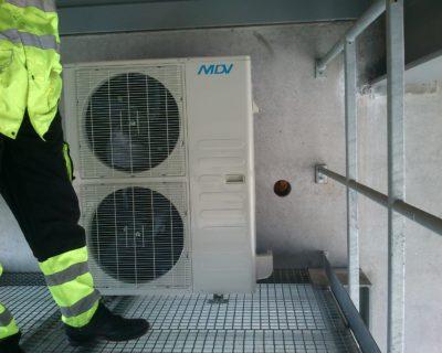 Oro kondicionierių montavimas Klaipėdoje, Fortum
