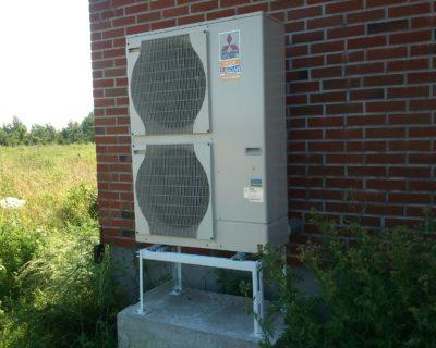 Silumos siurblio oras - vanduo montavimo darbai KlaipedojeSilumos siurblio oras - vanduo montavimo darbai Klaipedoje