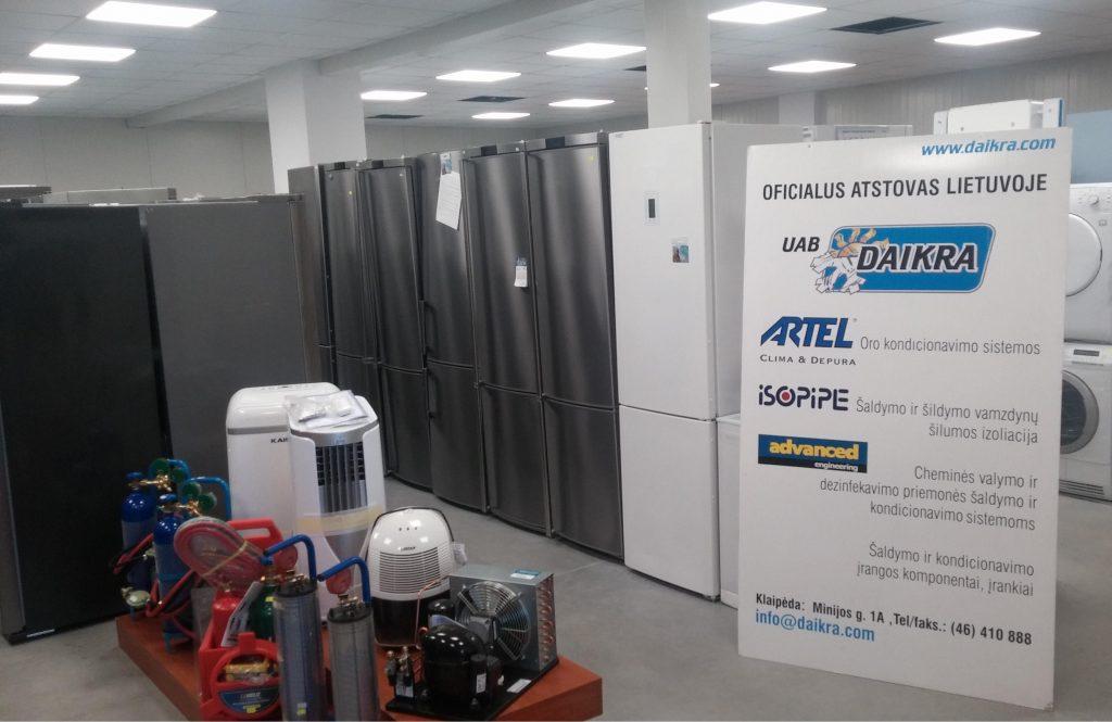Šaldytuvai Klaipėdoje - pigūs šaldytuvai - Klaipėda