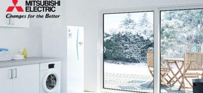 Šilumos siurbliai oras - vanduo Mitsubishi Electric