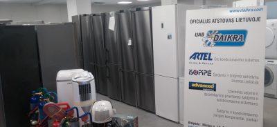 Pigiau šaldytuvai ir šaldikliai Klaipėdoje