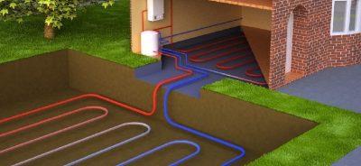 Geoterminis šildymas. Montavimas. Daikra