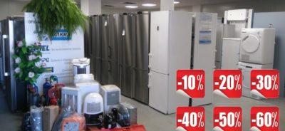Šaldytuvai pigiau – akcijos šaldytuvams