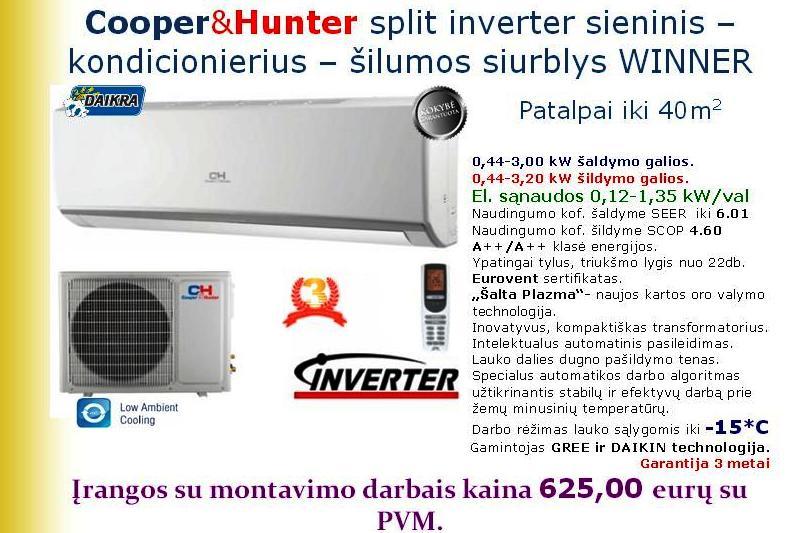 Šilumos siurblys Cooper&Hunter Winner