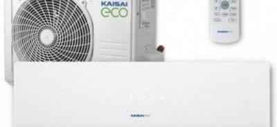 KAISAI ECo split inverter sieninis - kondicionierius - šilumos siurblys