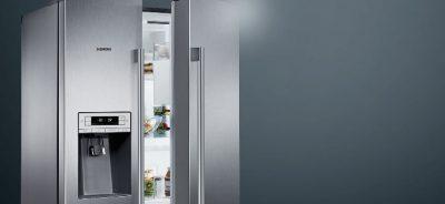 Dviduriai šaldytuvai Side by side. Daikra